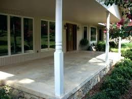 exterior paint concrete beautiful painting concrete walls exterior front porch ideas recommendation stunning decoration using white