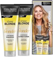 Купить <b>подарочный набор John Frieda</b> Sheer Blonde Go Blonder ...