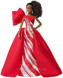 <b>Кукла</b> коллекционная Барби <b>Праздничная</b> 2019 <b>Брюнетка</b> с ...