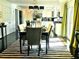 kitchen table rugs with regard to rug under round dining room area plan 17