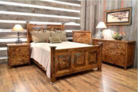 rustic wood bedroom furniture urban bedroom
