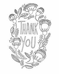 Diy Thank You Card For Fathers Day Adult Coloring Page Etsy