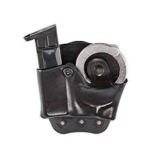 Magazine And Handcuff Holder Best Amazon Aker Leather 32 DMS Combo Handcuff Case And Magazine