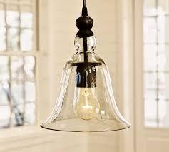 rustic glass pendant lighting. rustic glass indooroutdoor pendant small lighting pottery barn