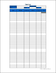 Gas Mileage Spreadsheet Fuel Log Sheet Insaat Mcpgroup Co