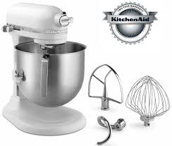 A New KitchenAid Mixer With 8 Quart Capacity NSF Certified For  Commercial Use Item  KSM8990WH Price 62900 Free Shipping