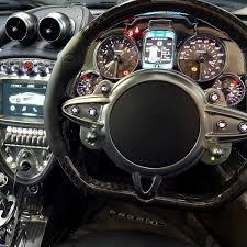 Pagani Huayra - Silver-CF, black interior, RHD #76103 - Forum ...