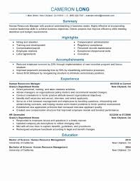 Human Voiced Resume Example Examples Of Human Resources Resumes Elegant Hr Objective For 16