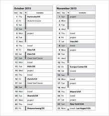 Trip Schedule Template 16 Travel Schedule Templates Free Word Excel Pdf Format