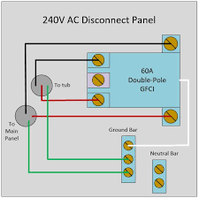 wiring diagram for a 220 volt hot tub the wiring diagram electrical how to wire a 240v disconnect panel for spa that does wiring diagram