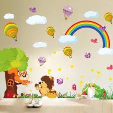 classroom wall decorative rainbow