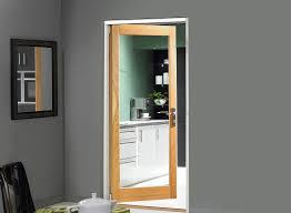 single doors oak