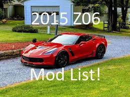 Meet My Corvette Z06 And Hear The Mod List Corvette Z06 Corvette Chevrolet Corvette Z06