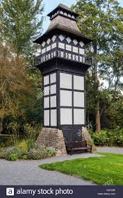 Water Tower Home Water Tower At Plas Newydd Llangollen Home Of Sarah Ponsonby Stock