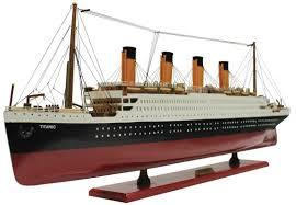 rms titanic wooden model 80cm