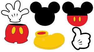 Free Mickey Mouse Template Download Mickey Mouse Face Template Free Download Clip Art Free