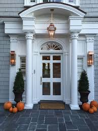 this lantern looks great as an interior light fixture as well as an exterior