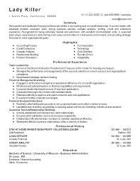 Treasurer Resume Free Resume Example And Writing Download