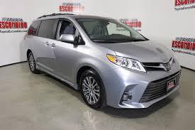 New 2018 Toyota Sienna XLE Premium Mini-van, Passenger in ...