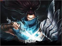 Hình ảnh yasuo đẹp, chất nhất trong LoL làm nền điện thoại, máy tính