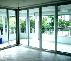 sliding door cost doors replace window with french installation glass replacement sl