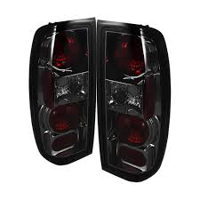 Euro Lights For Cars Spyder Auto Nissan Frontier 98 00 Euro Style Tail Lights