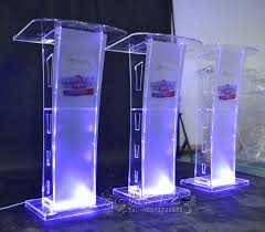 Special Offer <b>Modern Acrylic</b> Smart <b>Podium Plexiglass Pulpit</b> School ...