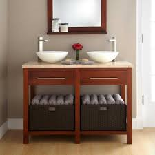 Bathroom Vanities : Magnificent Making Galvanized Tub Into Sink Ideas Small  Bathroom Sinks With Storage Q Lowes Bath Vanity For Exciting Cabinets  Designs ...