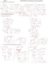 study guide and intervention solving quadratic equations by bunch ideas of glencoe algebra 2 radical equations