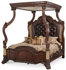 victoria palace california king canopy bed by michael amini michael amini furniture i64