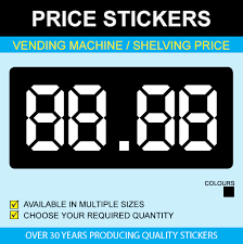 Price Stickers For Vending Machines New Vending Machine Stickers Stickers For Vending Price Stickers
