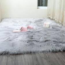 fake fur rug most popular posts large faux fur rugs uk