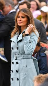 coat melania trump first lady outfits trench coat