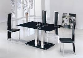 Clear Dining Room Table Small Rectangular Glass Dining Table Modern Dining Room Design