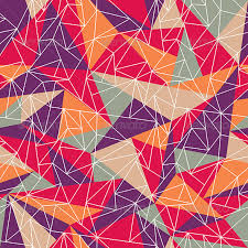 Colorful Patterns Enchanting Abstract Geometric Colorful Pattern By SelenaMay GraphicRiver