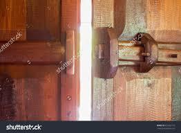 old wooden door open door light 425162110