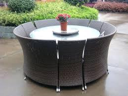 round wicker patio dining set gray patio dining sets round patio furniture sets gray sling patio