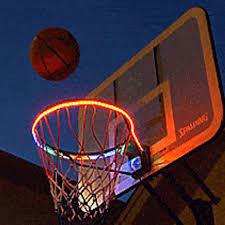 Basketball Hoop Led Light Basketball Hoop Activated Led Strip Light Modern Beyond