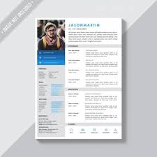 cv template word francais cv template vectors photos and psd files free download
