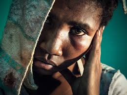 domestic violence rand a survivor of sexual violence waiting to be seen at the antenatal clinic in port