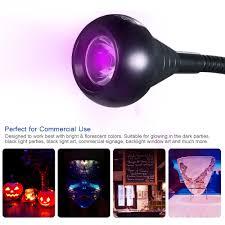 Black Light Commercial Us 10 39 35 Off Usb Ultraviolet Curing Lamp Led Blacklight Gooseneck Light With Clamp Uv Light Fixture Black Light Lamp For Stain Detection In