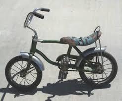 Schwinn Bike Computer Tire Size Chart Details About Vintage Child S Schwinn Bicycle Original Stingray Banana Seat Lil Tiger Green
