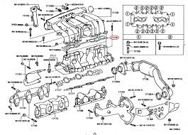 fuel pressure pulsation damper 94 4runner v6 yotatech forums 17176 gasket air surge tank to intake manifold 17176 65020 3vze