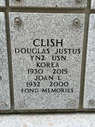 Douglas Justus Clish (1930-2015) - Find A Grave Memorial