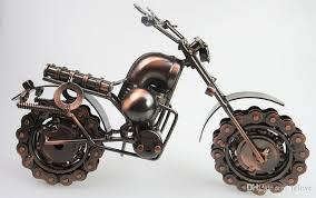 retro style iron art creative handmade motorcycle model toys metal