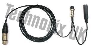 Cable For Heil Microphones 3 Pin Xlr 8 Pin Round For Yaesu Cc 1 Xlr Y Bal Equiv