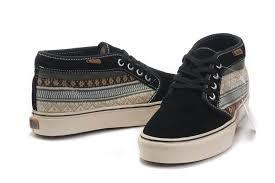 vans mens shoes. mens vans classics canvas chukka shoes boot black vans mens shoes