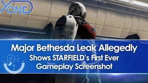 Major Bethesda Leak Allegedly Shows First Starfield Gameplay Screenshot