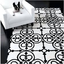 white and black rug freshomecom black and white rug black white striped rug australia