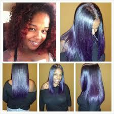 natural silk press hairbyvanitystudio silk blowout on natural hair natural hair silk press and color